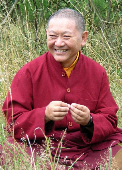 Ringu Tulku Rinpoche fotografiert von Josef Kerklau